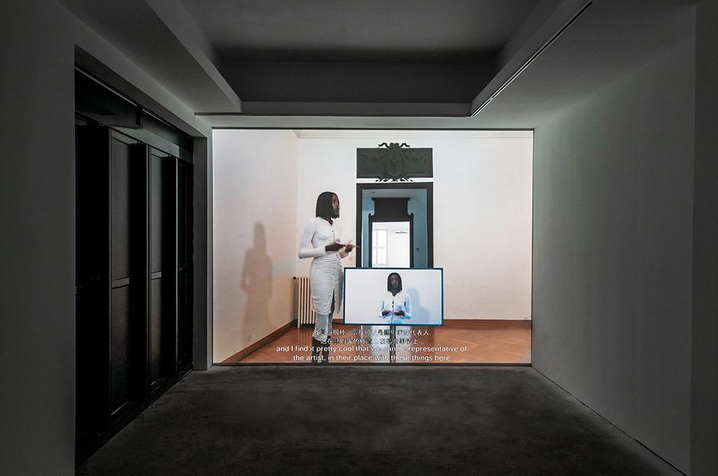 艾曼紐・雷內&班雅明・瓦倫薩,《隨時準備體驗藝術家的習癖?》,2018